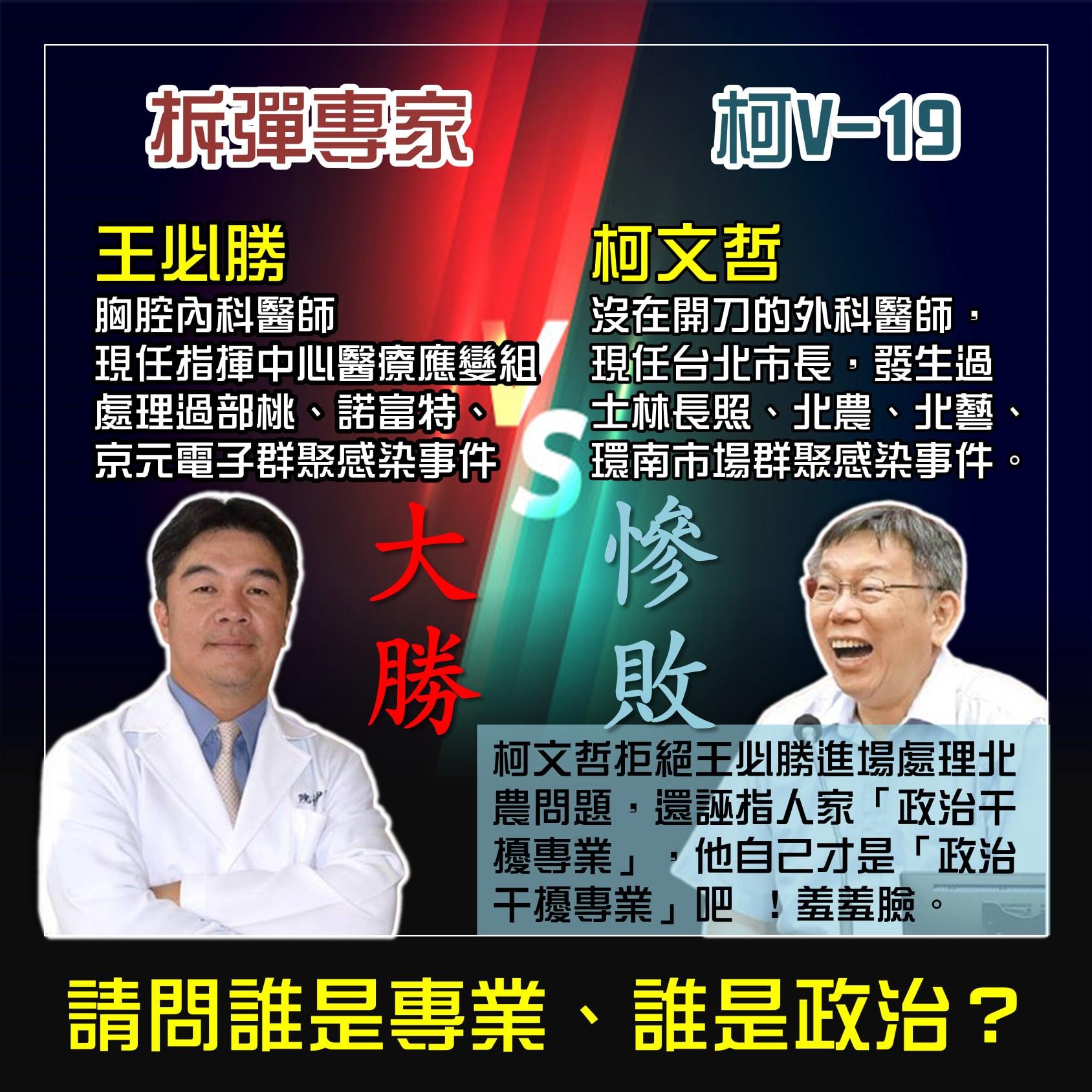 誰是政治、誰是專業?