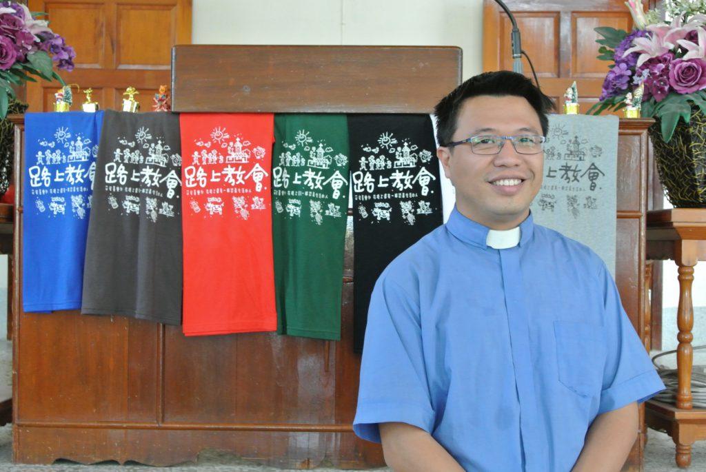 陳澤胤牧師 是大家的榜樣