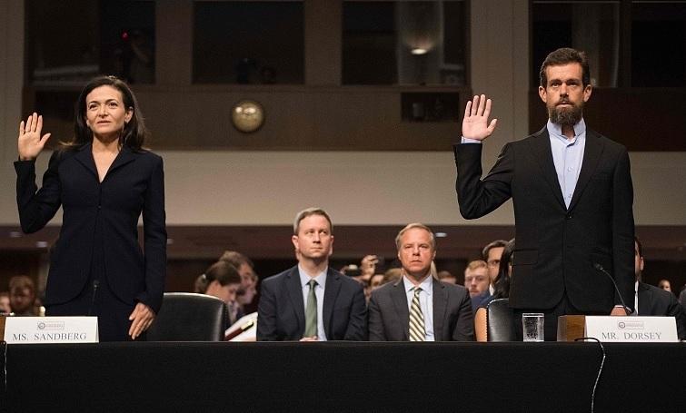 參議院再度傳訊推特與臉書的CEO