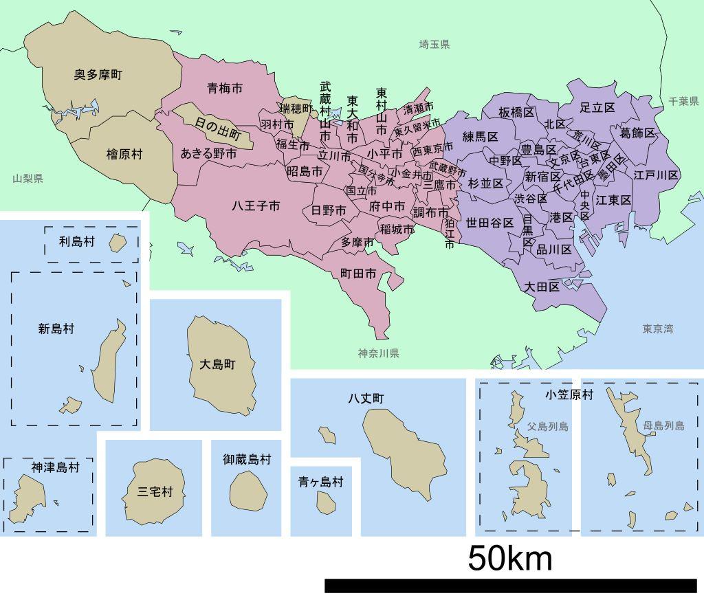 東京就是這麼大