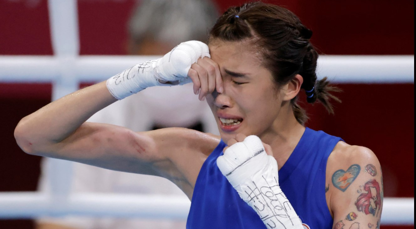 靠拳擊扭轉人生的黃筱雯