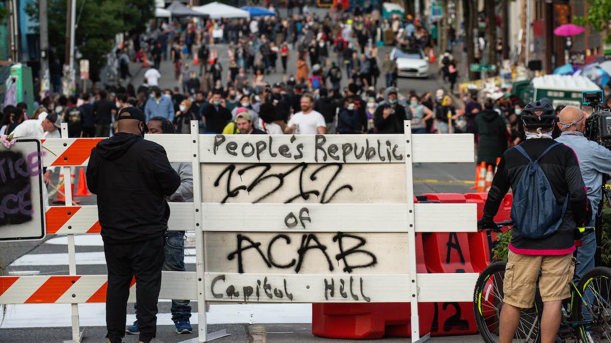 Antifa暴動,美國主媒全部掩飾