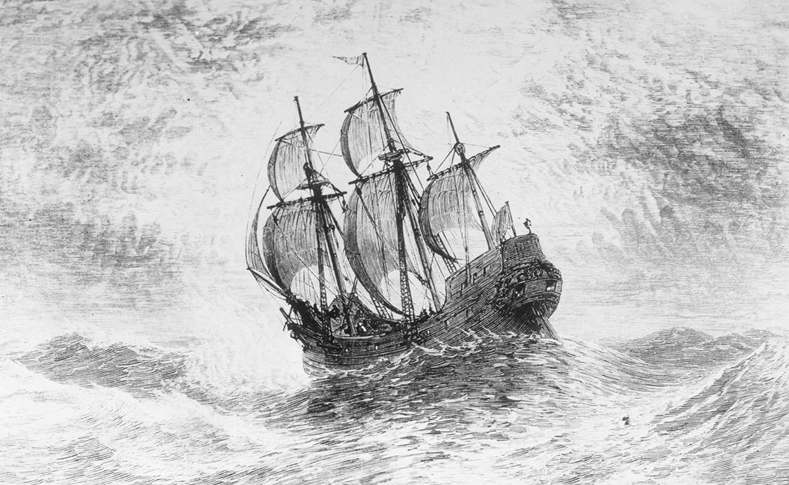 五月花號400年與獨特美國