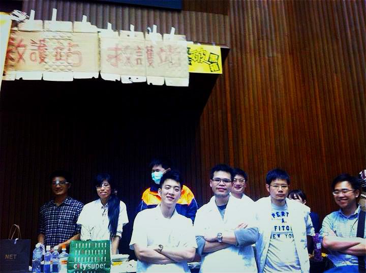 向台灣的年輕人致敬