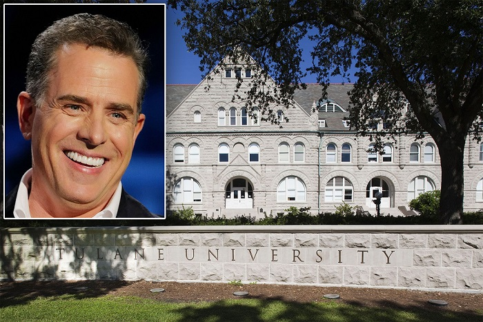 杜蘭大學請亨特拜登講假新聞的影響