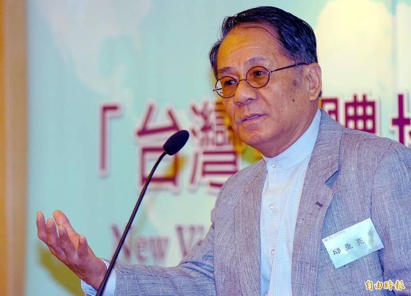 邱垂亮的「兩種心向」和「台灣政論」